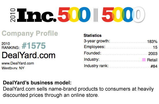 Inc 5000 Client of SEO National