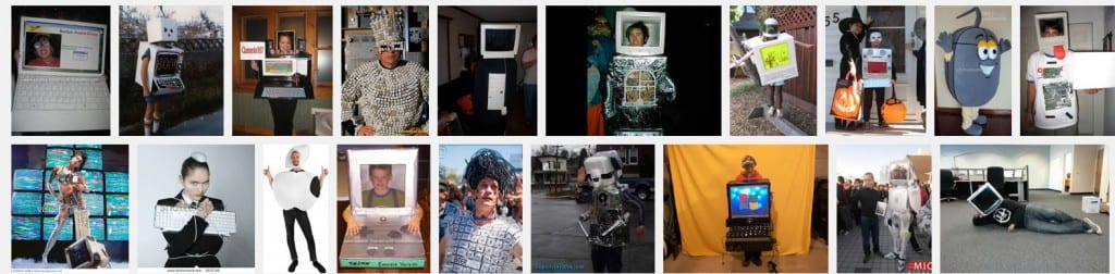 computer costumes