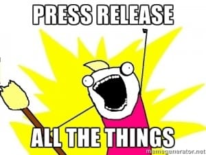 Do press releases still have a place in SEO?