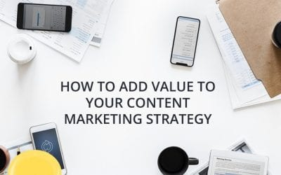 How to Add Value to Your Content Marketing Strategy [infographic]