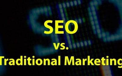 SEO vs. Traditional Marketing [infographic]