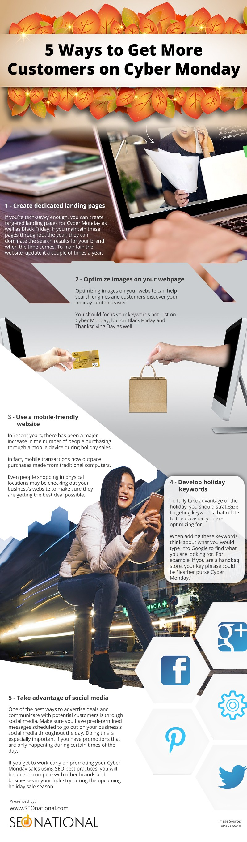 5 Ways to Get More Customers on Cyber Monday [infographic]
