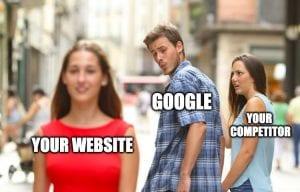 Strong SEO versus Good Website Design