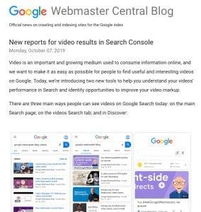 Fix Video Markup Errors from Google Search Console : Video Schema